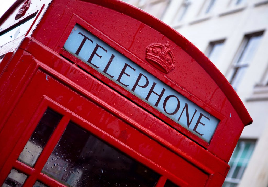 telephone box london famous